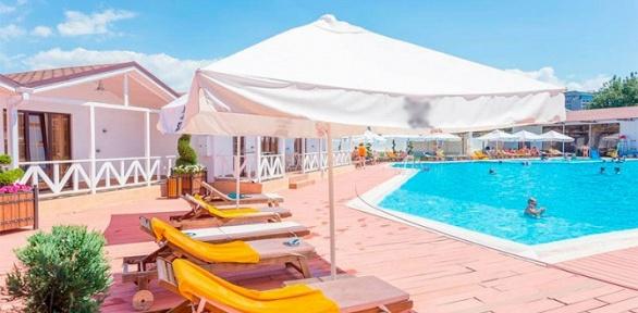 Семейный отдых вАнапе ототеля Dacha Del Sol All Inclusive Hotel