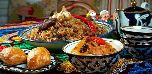 Тематический узбекский ужин для 5, 10или 15человек вРК«Хлопок»