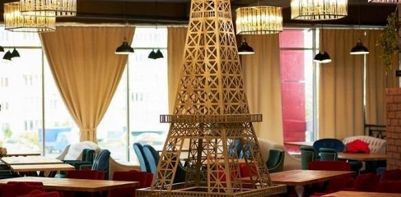 Пенная вечеринка сзакусками вресторане Paris Lounge