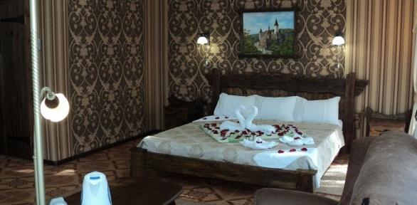 Отдых вцентре Алушты спитанием вгостинице Park Hotel Praha