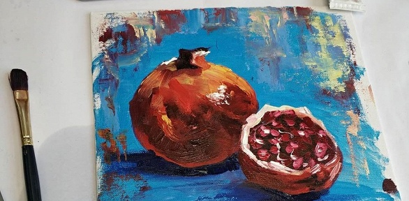 Онлайн-курс живописи отстудии «А-ля Прима»