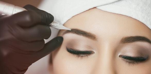Перманентный макияж губ или бровей всалоне «Красота.фм»