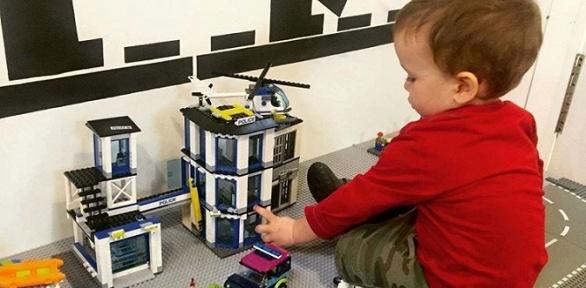 30минут, 1или 2часа игры сконструктором влего-комнате «Legoмир»