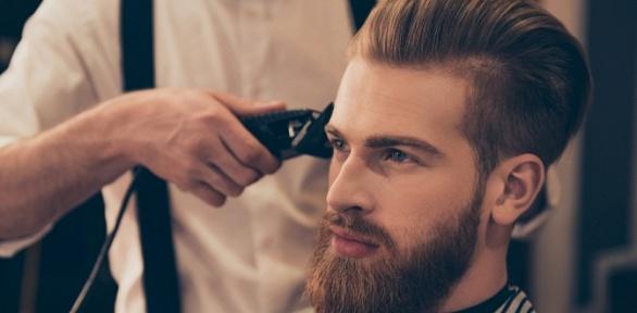 Стрижка, моделирование бороды ибритье вбарбершопе Best Man