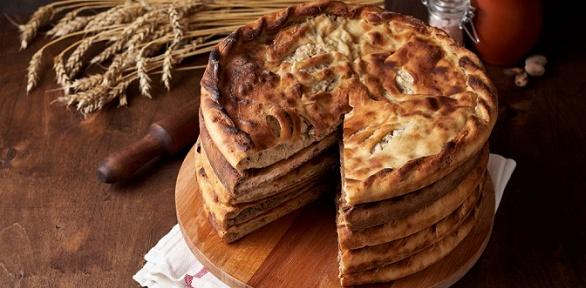 Сет изосетинских пирогов иподарок отпекарни «Три пирога»