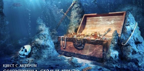 Участие вквесте «Сокровища семьи Крузо» откомпании «Квест Lock»