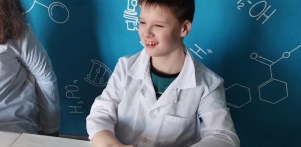 Посещение клуба юных химиков «Молекула»
