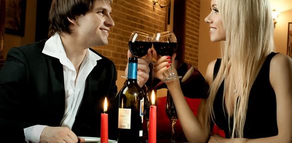 Романтический ужин надвоих ввинном ресторане Wine Gog