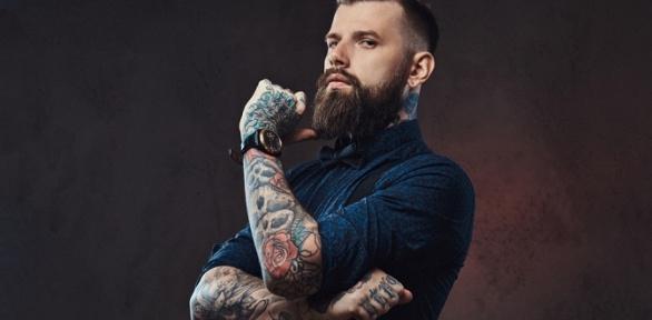 Мужская идетская стрижка или моделирование бороды в27Barbershop