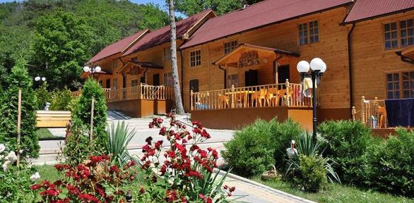 Проживание наберегу Черного моря вГК«Райский сад»