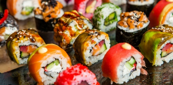 Любые виды роллов навыбор отяпонской кухни «Берисуши» заполцены