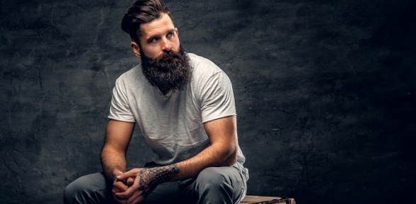 Мужская или детская стрижка, коррекция бороды вбарбершопе «Синдикат»