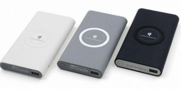 Внешний аккумулятор Power Bank QiCompatible