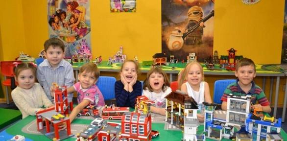 Посещение развлекательного центра «Леготека»