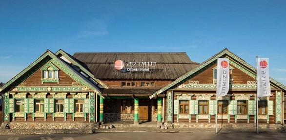Отдых сзавтраком ипосещением бани вкомплексе «Azimut Отель Суздаль»