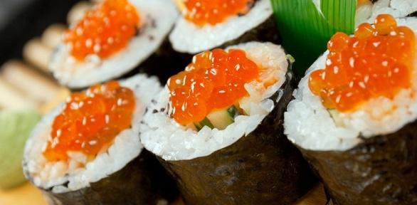 Всё меню инапитки отслужбы доставки North Sushi заполцены