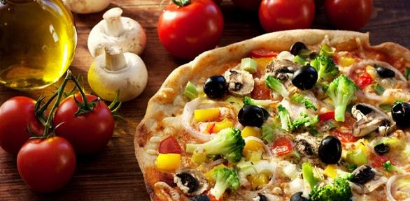 Весь ассортимент пиццы ипирогов отслужбы доставки Lana Pizza заполцены