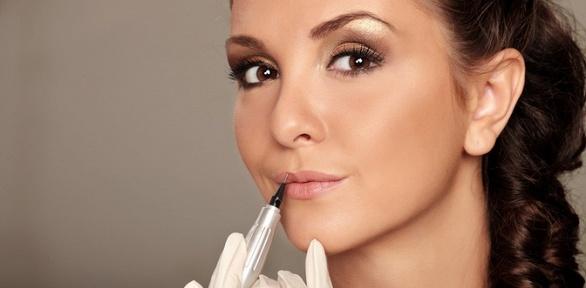 Перманентный макияж бровей, губ или век отстудии красоты Malina