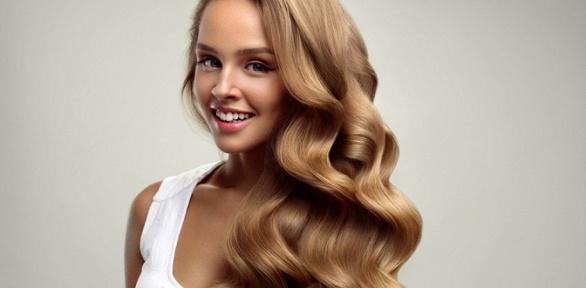 Стрижка, кератиновый уход, окрашивание волос отстилиста Виктории Черновой