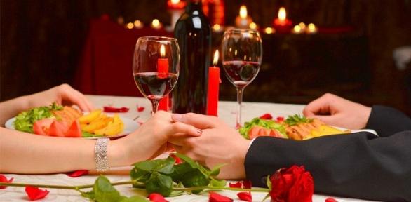 Романтический ужин вресторане «Фасоль»