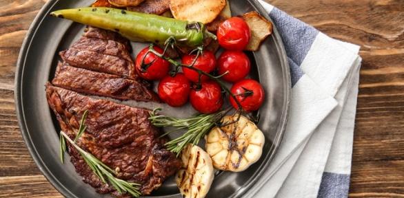 Блюда вресторане «Српска Кафана» заполцены