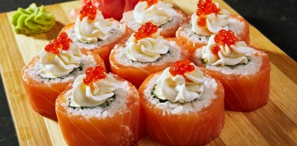 Сеты инапитки откафе «Суши Wok» заполцены