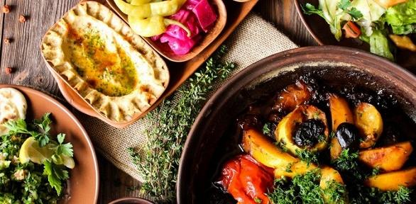 Классический или изысканный арабский ужин вкафе «Кардамон»
