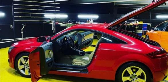 Химчистка автомобиля вцентре Rds Detailing Studio
