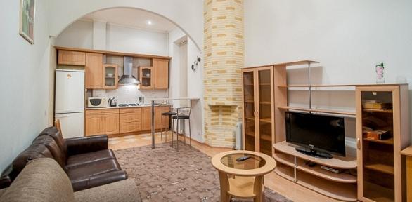Отдых в центре Питера в двухкомнатных апартаментах на улице Пушкинской 6