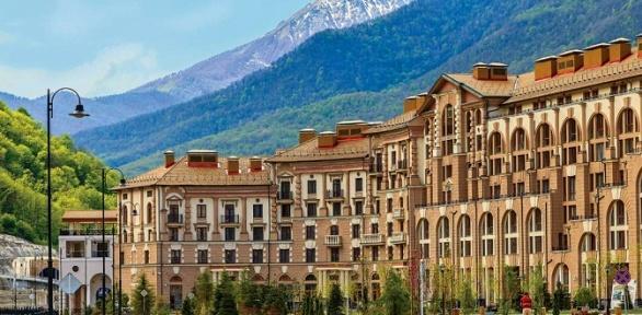 Отдых вСочи вКрасной Поляне вапартаментах отеля «Горки город»