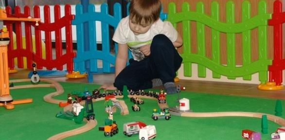 Безлимитное посещение детской игровой развивающей площадки «Топ-Топ Ландия»