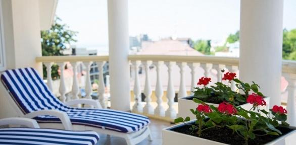 Отдых вСочи вномере выбранной категории сзавтраком вотеле Villa Bavaria