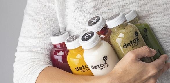 Детокс-набор изнапитков спитанием или без