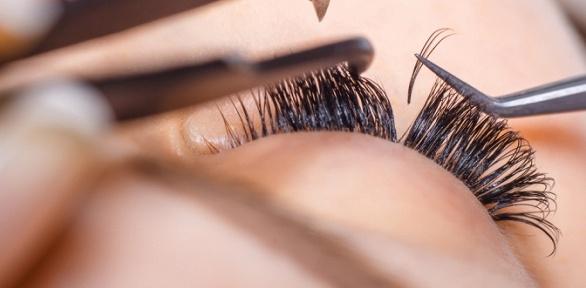 Наращивание ресниц, макияж, создание образа отмастера Оксаны Сергеевой