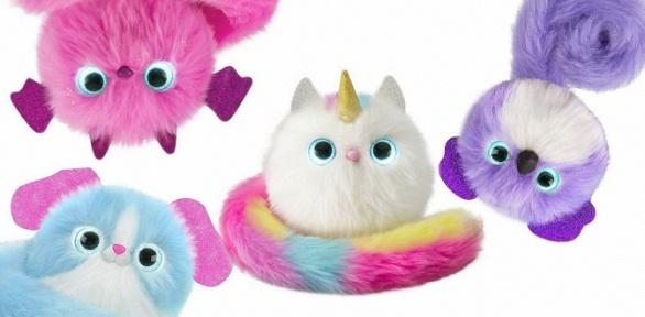 Интерактивная игрушка «Умный пушистый котенок Pomsies»