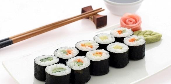 Доставка сетов отресторана японской кухни Flash