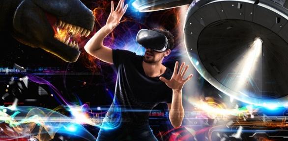 1или 2часа посещения квеструма или аренды VR-клуба «Игровое пространство»