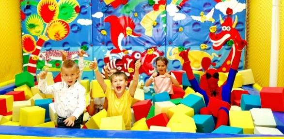 Посещение игродрома всемейном развлекательном центре «Поляна»