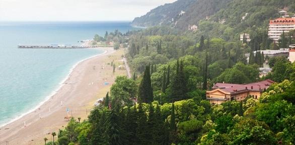 Отдых вАбхазии напобережье Черного моря вгостевом доме «Фортуна»