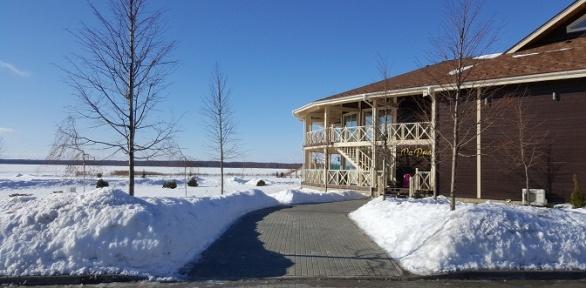 Отдых наберегу Вазузского водохранилища вотеле Vazuza Country Club