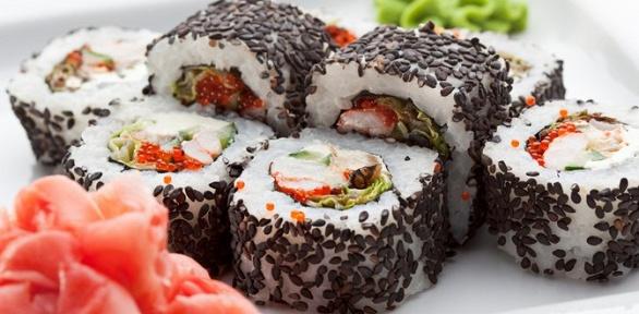 Заказ блюд отслужбы доставки суши «Ханзо» заполцены