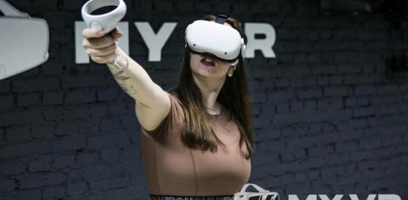 60минут игры вклубе виртуальной реальности MyVR