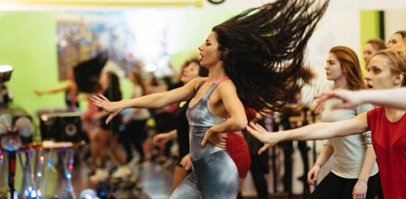 Занятия танцами вшколе Ritmo Dance