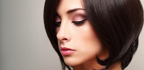 Женская стрижка, укладка иокрашивание волос встудии Infinito