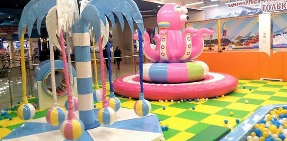 Посещение детской площадки вкомплексе «ПолетайКА»