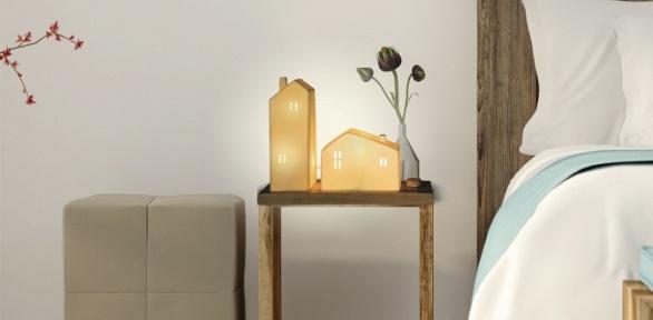 Авторский керамический светильник ручной работы