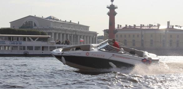 Аренда катера сосъемкой наэкшен-камеру откомпании «Прокат СПб»