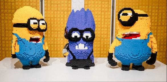 Билет наинтерактивную лего-выставку «Мир кубиков!»