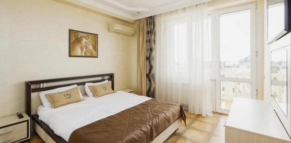 Отдых вцентре Сочи вотеле Elle Hotel