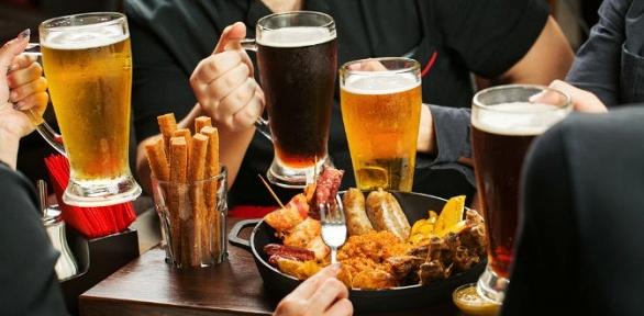 Пивная вечеринка для 2, 4или 6человек вкафе-баре «Веселый лось»